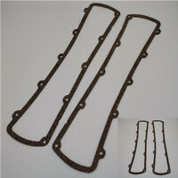 2Pcs Black Rubber Valve Cover Gasket Reusable For Oldsmobile 260 307 330 350 400