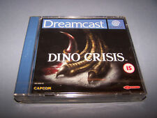 DINO CRISIS - Sega Dreamcast - UK PAL - NEW FACTORY SEALED - VG COND