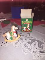 7-Eleven Traditions Chistmas Ornament, 1997, Rockin' Christmas, Ceramic