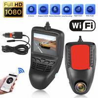 WiFi HD 1080P Car DVR Dash Cam Video Recorder Front Camera Night Vision G-sensor