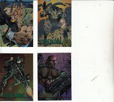 Wildstorm Set 1-Wildstorm Productions 1994-Chromium 4 Cards41,50,51,52-L24-Cards