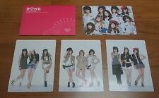 SNSD Official Fanclub SONE Official Photo Card Set (4 Cards Lot) Taeyeon Yoona +