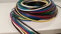 16 GAUGE WIRE 7 COLORS 10 FT EA PRIMARY AWG STRANDED COPPER POWER MTW VW-1