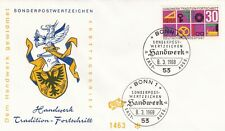 Germany 1968 Crafts and Trades FDC Unaddressed VGC