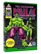 The Incredible Hulk - Complete Season Two Marvel Originals Series - 90s DVD