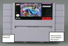 Teenage Mutant Ninja Turtles in Time, SNES Game Repair Refurb, Free Ship!