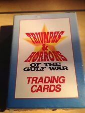 Triumphs & Horrors of the Gulf War  Trading Cards Sealed