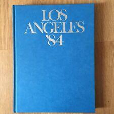 LOS ANGELES 84 OLYMPICS 1984 HARDCOVER BOOK SPORTS VINTAGE LA MARY LOU RETTON