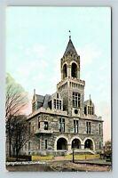 Court House, Springfield MA Vintage c1910 Postcard