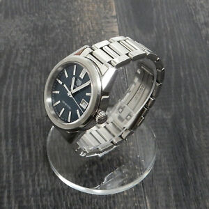 Rise-on TAG HEUER Carrera WBG1310 Stainless Steel Blue Wrist Watch #1