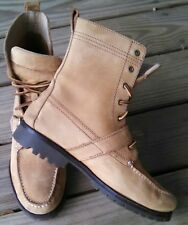 Ralph Lauren Polo boots, Brown Leather Ranger Boots, Men's Size 9, AWESOME BOOTS