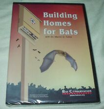 Building Homes for Bats DVD NEW Instruction Merlin Tuttle Conservation Houses