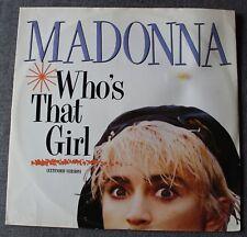 Madonna, Who's that Girl / white heat, Maxi Vinyl - 2 titres import UK
