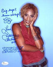 (Ssg) Debra Wilson Signed 8X10 Color Photo with a Jsa (James Spence) Coa