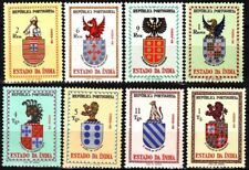 PORTUGUESE INDIA 1958 Heraldry: Arms of Vice-Kings and Governors. Complete, MNH