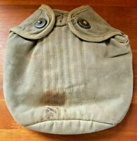 Vintage U.S. MILITARY ISSUED 1950s Canteen Pouch (no canteen) (#5)