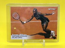 2003 NetPro Serena Williams #1 RC (The Best Woman's Tennis Player Ever) 🔥🔥🔥🔥