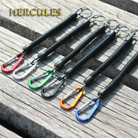 Hercules M1 Fishing Lanyards Secure Safety Ropes Retractable Coiled Tether Plier