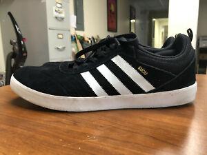 Adidas Suciu ADV Black/White/Gold Size 14 US *USED*