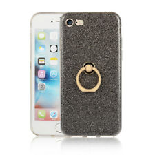 Finger Holder Ring Buckle With Stand Soft Case Cover For iPhone 4 5 6s 7 8 Plus
