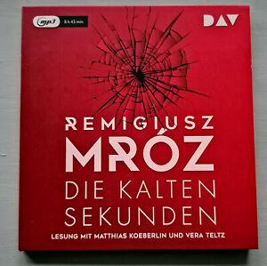 """Sammlungsauflösung Hörbücher: REMIGIUSZ MROZ """"Die kalten Sekunden"""""""