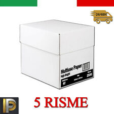 Carta per stampante A4 Multiuse Paper 75 GR 5 RISME - 500 FOGLI A RISMA