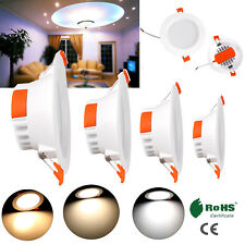 Recessed LED Ceiling Light Fixture 7W 9W 15W 21W 35W Downlight 110V 220V Lamp