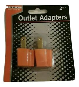 3 Prong to 2 Prong Grounding Adapters Outlet Electrical,