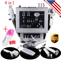 4in1 Diamond Microdermabrasion Dermabrasion Ultrasonic Peeling Hot&Cold Machine