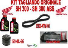 KIT TAGLIANDO HONDA SH 300 - ABS ORIGINALE OLIO FILTRO OLIO FILTRO ARIA CINGHIA