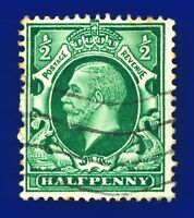 1934 SG439 ½d Green (Int Format) N46(1) Good Used aygx