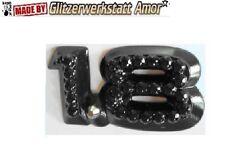 Auto KFZ Schriftzug Typ-Modell-bezeichnung >Unikat by Amor* >HOT >BLACK DIAMOND*