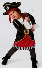 New Target Toddler Pirate Costume - Dress & Hat 18-24 month