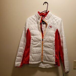 Kansas City Chiefs NFL G-III Women's White & Red Jacket