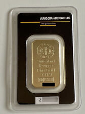 Argor Heraeus Goldbarren 1 Unze Gold Barren 1 Oz