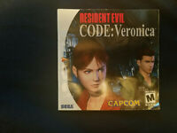 Resident Evil Code: Veronica Sega Dreamcast Instruction Manual Booklet ONLY