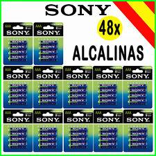Pilas AAA alcalinas Sony 48x LR3 1.5v Alkaline Power Alkalinas caja 12 Blister