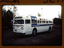 Original Slide Bus, Buffalo Motor Coach 3271,Kodachrome 1985