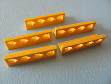 LEGO 3633 @@ Fence 1 x 4 x 1 @@ YELLOW @@ JAUNE