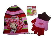 Bonnet + gants CHARLOTTE AUX FRAISES Taille 3 4 5 6 ans !!! enfant fille ...