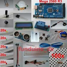 Kit / Set für Arduino / mit MEGA2560 R3 Mikrocontroller / viel Zubehör / Lernset