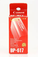 Canon bp 617 de iones de litio Batería, original batería Canon