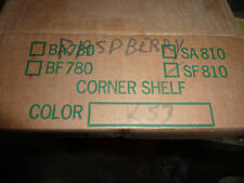 Raspberry Color Ceramic Corner Shelf