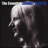 JOHNNY WINTER (2 CD) THE ESSENTIAL ~ BEST OF / GREATEST HITS ~ BLUES *NEW*