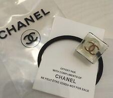 Orig Chanel Perle Haarschmuck Haargummi Stempel sehr Edel NEU