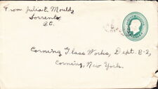 Canada - 1929 - Sorrento, BC - 2 Cents Green Postal Stationery Entire Used to US