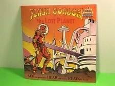VINTAGE 1982 READ ALONG BOOK RECORD RPM 33 FLASH GORDON LOST PLANET KID STUFF