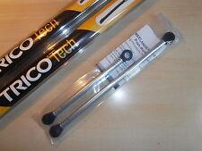 LANDROVER FREELANDER 1 WIPER MOTOR LINKAGE PUSH ROD KIT + Set Front Trico Blades