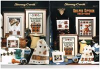 QUILTED KITCHEN CREATIONS - STONEY CREEK CROSS STITCH BOOK