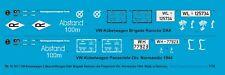 Peddinghaus-Decals 1/16 3577 Vw-Kübelwagen 2 Étiquettes Dak Brigade Ramcke